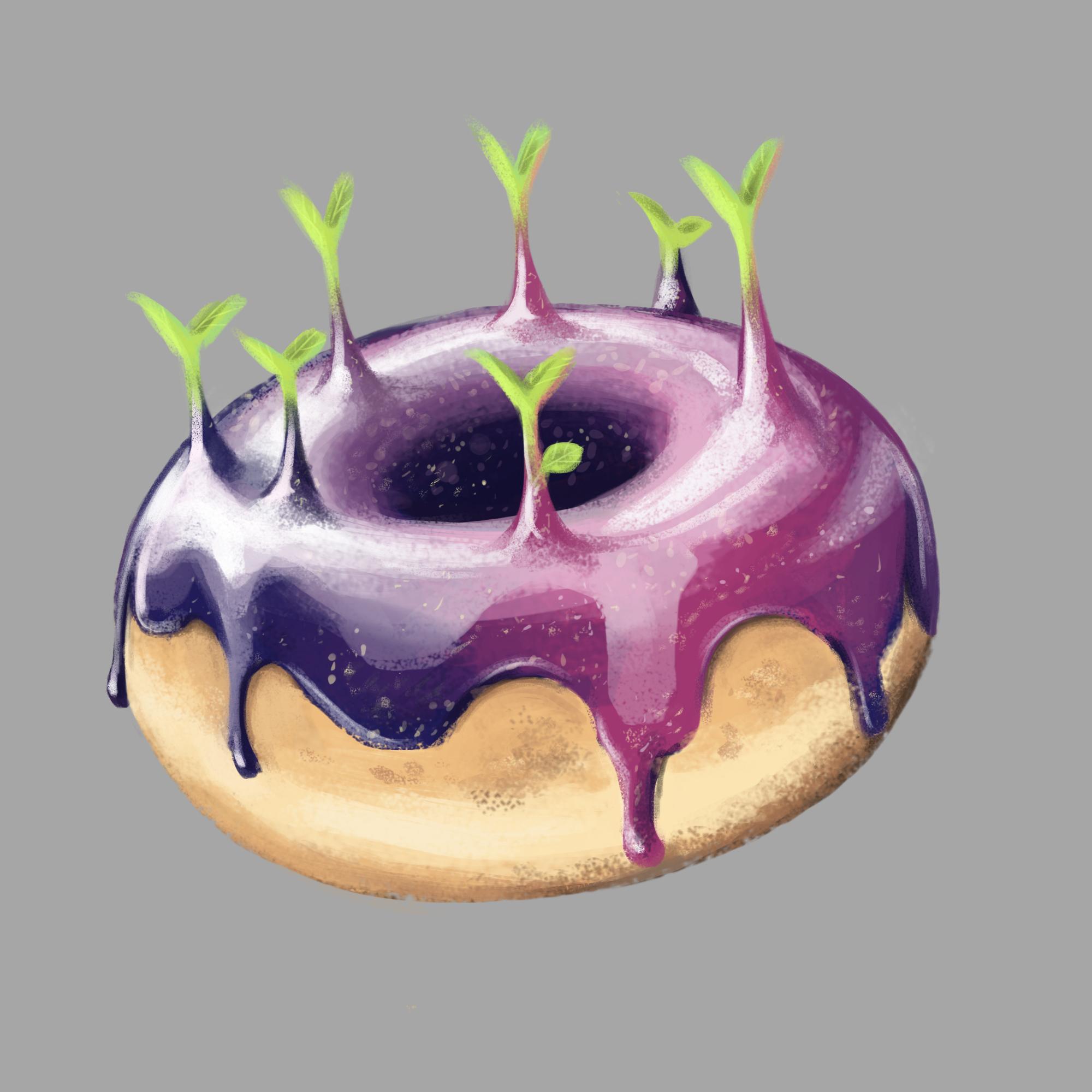 Practice Glazed Donut